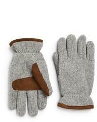 Knit ski gloves medium 609035