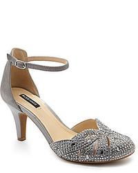 Alex Marie Sabryna Jeweled Ankle Strap Dress Sandals