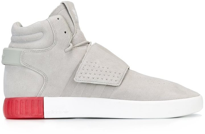 Adidas Originals 'Tubular Invader Strap' Hi tops
