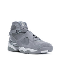 e460c1b351dcbd Men s Grey Suede High Top Sneakers from farfetch.com