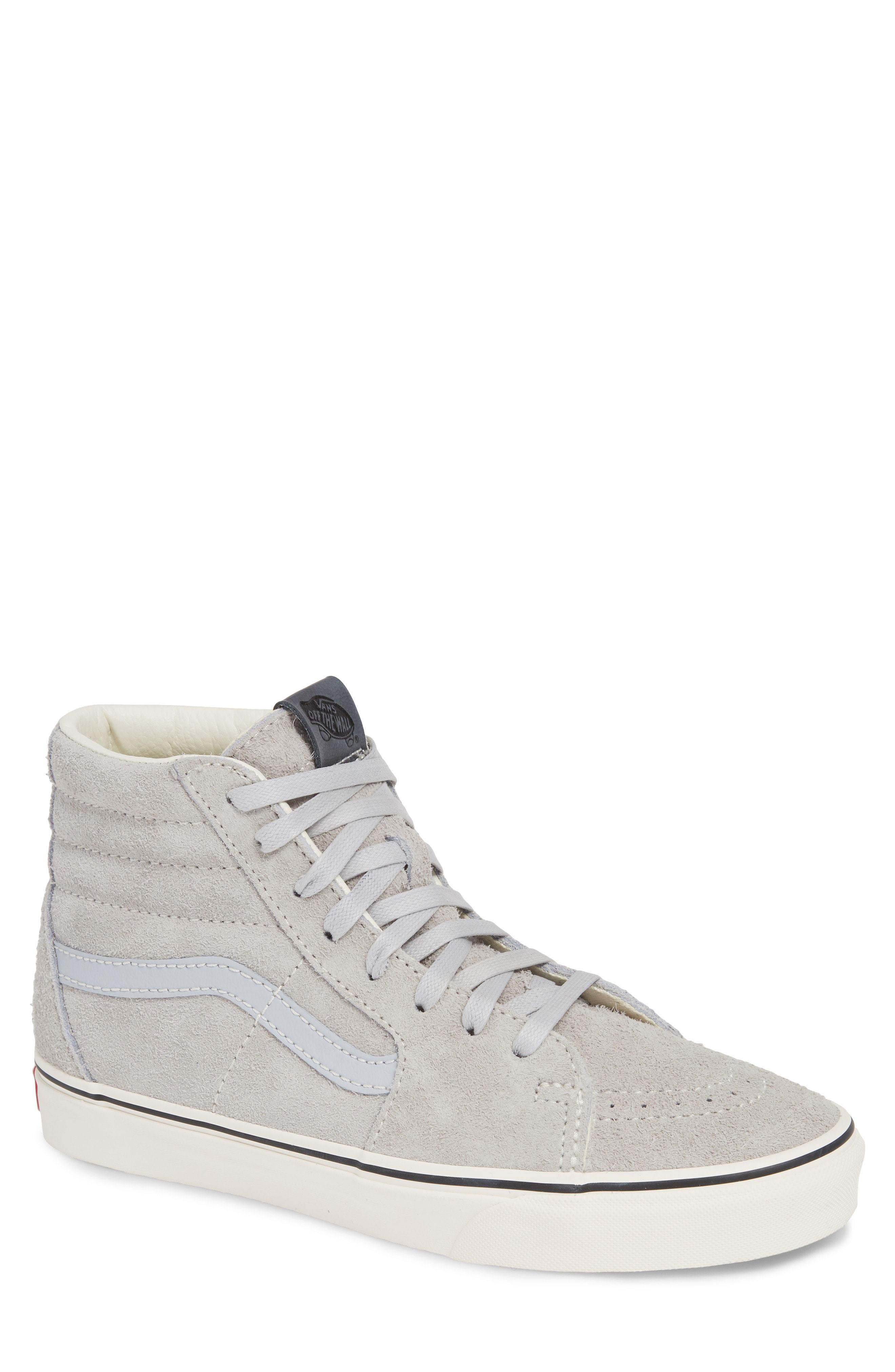 01104771e9 ... Vans Sk8 Hi Hairy Suede Sneaker