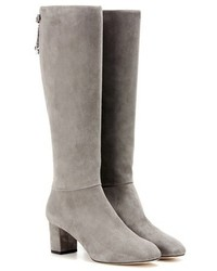 Loro Piana Liza Suede Knee High Boots