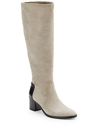Reed Krakoff Suede Knee High Boots
