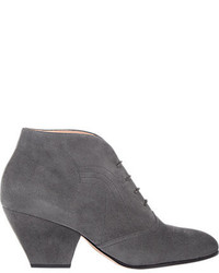 Topstitched ankle boots medium 178488