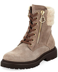 New viviane fur trim suede hiker boot medium 5276663