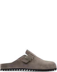 Officine Creative Grey Suede Agora 4 Sandals