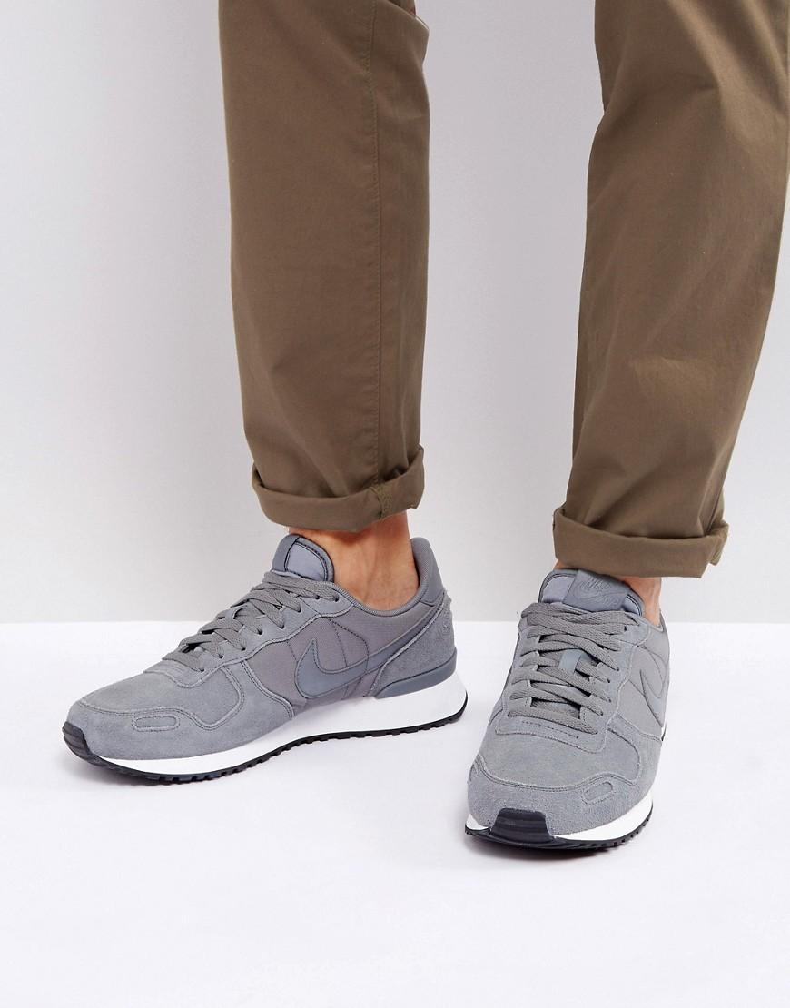Testimoniare differenza Comitato  Nike Air Vortex Leather Trainers In Grey 918206 002, $29   Asos   Lookastic