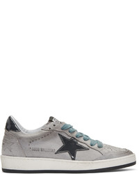 Golden Goose Deluxe Brand Golden Goose Grey Suede Ball Star Sneakers