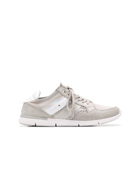 Tommy Hilfiger Panelled Lace Up Sneakers