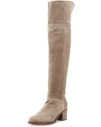 Ashby suede over the knee boot stone medium 692754