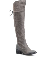 Brn gallinara over the knee boot medium 730437