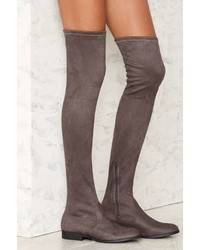 Factory Lfl By Lust For Life Radikal Over The Knee Boot