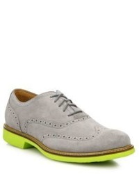 Cole Haan Great Jones Wingtip Suede Oxfords