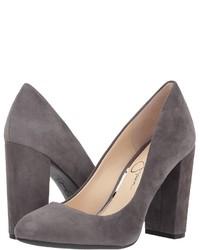9b2229bf44 Women's Grey Suede Pumps by Jessica Simpson   Women's Fashion ...