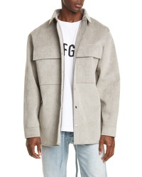 Fear Of God Sueded Shirt Jacket