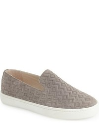 Soludos Diamond Embossed Slip On Sneaker
