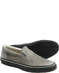 Sperry Striper Leather Sneakers Slip Ons