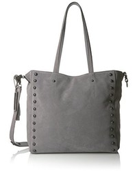 Loeffler Randall Studded Tote Split Suede Shoulder Bag