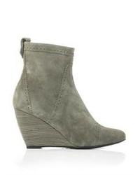 Balenciaga Siv To Pelle Ankle Boots