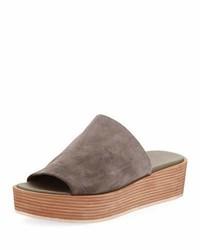 Vince Saskia Platform Slip On Wedge Sandal