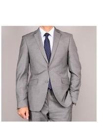 Bertolini Charcoal Grey Slim Fit Suit