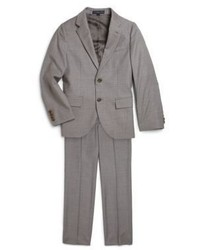 Ralph Lauren Boys Two Piece Wool Twill Suit