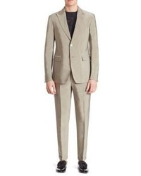 Versace Collection Regular Fit Two Button Suit