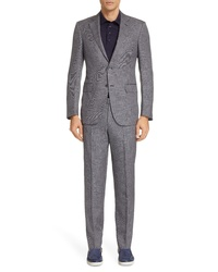 Ermenegildo Zegna Fit Solid Suit