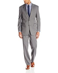 Jones New York Graham Two Button Side Vent Herringbone Suit
