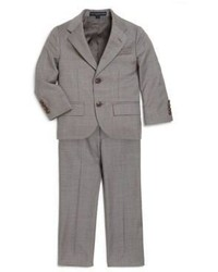 Ralph Lauren Little Boys Two Piece Wool Twill Suit