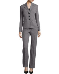 Le Suit Long Sleeve 3 Button Jacket And Pant Suit Set