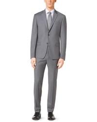 Michael Kors Michl Kors Light Grey Suit