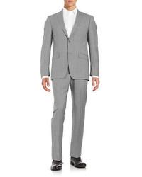 Michael Kors Michl Kors Two Button Wool Suit