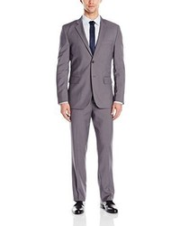 Nautica Vertical 2 Button Side Vent Nested Suit