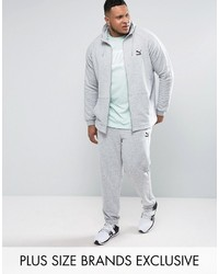 Puma Plus Tracksuit Set Gray To Asos