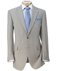 Jos. A. Bank Signature Imperial 2 Button Tailored Fit Wool Suit Extended Sizes