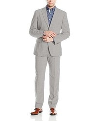 Tommy Hilfiger Two Button Stretch Performance Solid Suit