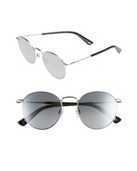 WEB 51mm Round Metal Sunglasses