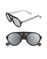 Moncler 52mm Shield Sunglasses