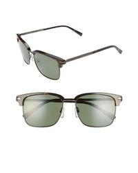 Ted Baker London 55mm Polarized Browline Sunglasses