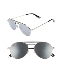 WEB 56mm Aviator Sunglasses
