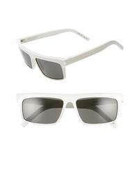 Saint Laurent 57mm Flat Top Sunglasses