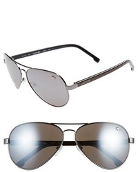 Lacoste 62mm Aviator Sunglasses