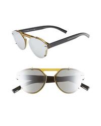 DIOR 62mm Round Sunglasses
