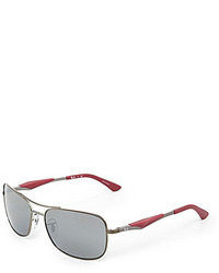 Ray-Ban Active Mirrored Rectangle Sunglasses