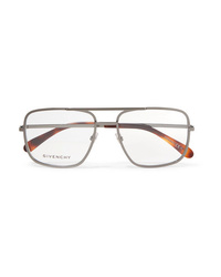 Givenchy Aviator Style Stainless Optical Glasses