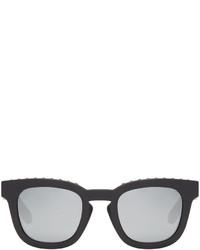Givenchy Black Matte Square Sunglasses