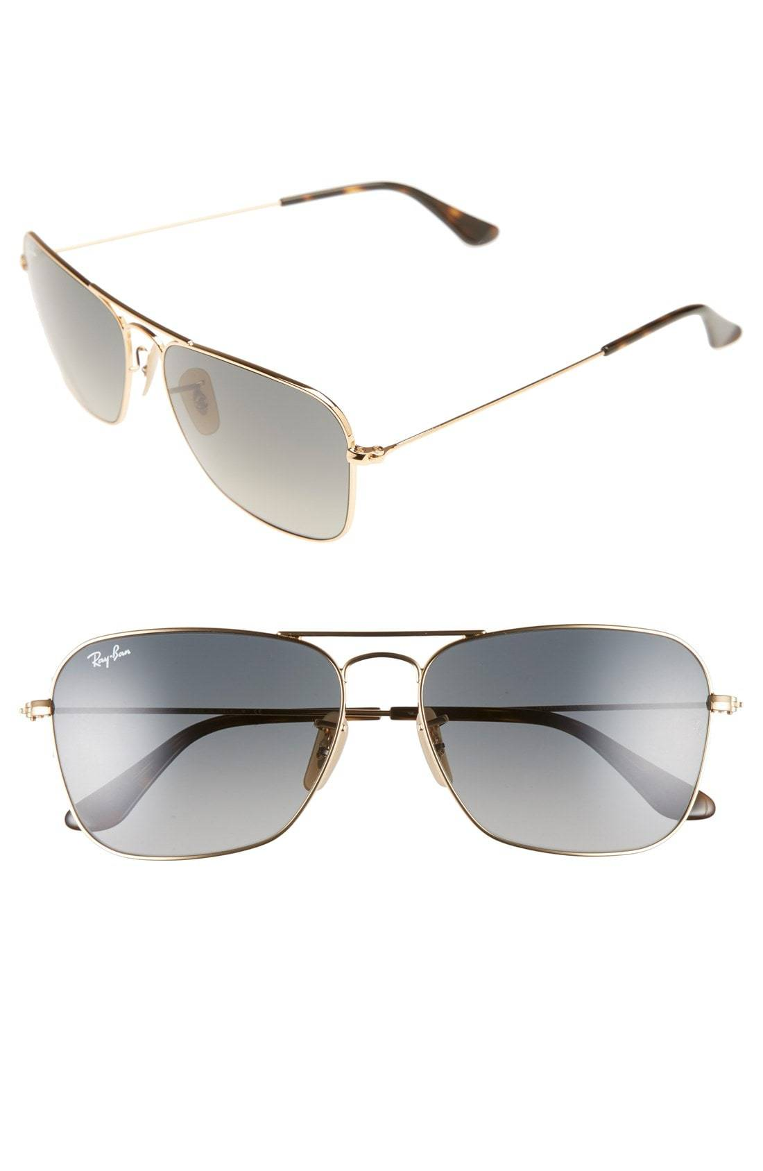 Ray-Ban Caravan 58mm Aviator Sunglasses