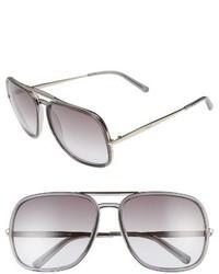 Chloé Chloe 60mm Gradient Lens Navigator Sunglasses