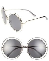 Chloé Chloe 62mm Oversize Sunglasses